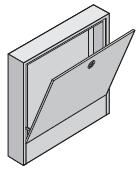 Uponor Magna коллекторный шкаф накладной