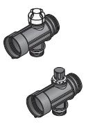 Uponor Magna сегмент коллектора с клапаном фото