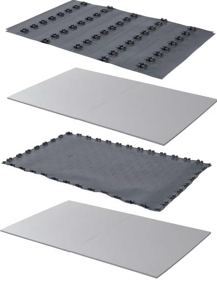 Uponor Nubos комплект панелей фото