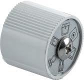 Uponor SPI Uni-C рукоятка для вентиля 35° фото