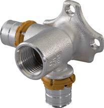Uponor Smart Aqua в S-Press водорозетка проходная фото