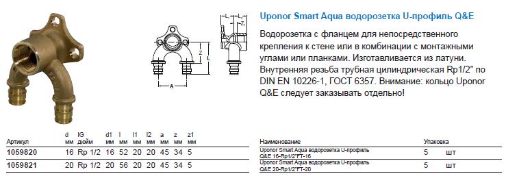 vodorozetka-U-profil