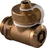 Uponor Vario R клапан заполнения и слива для коллектора фото