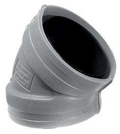 Uponor Ventilation изолированный отвод 45° фото