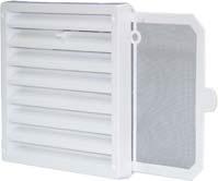 Uponor Ventilation наружная решётка фото