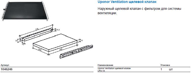 Uponor Ventilation