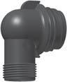 Uponor Aqua PLUS угольник с наружной резьбой PPM фото