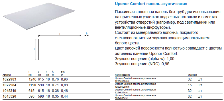 Uponor Comfort