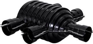 Uponor Ecoflex комплект изоляции для двойного