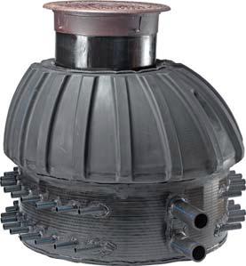 Uponor Geo коллекторный колодец 1000 с вентилями фото