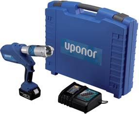 Uponor S-Press аккумуляторный инструмент UP110 фото