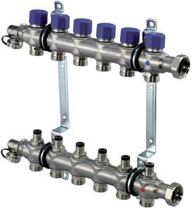 Uponor Vario S коллектор с клапанами ST