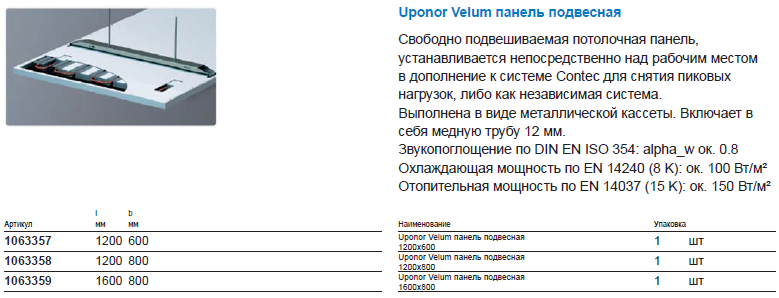 Uponor Velum