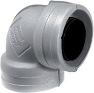 Uponor Ventilation изолированный отвод фото